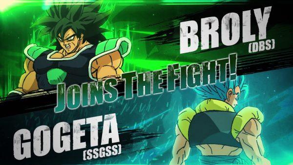 Gogeta, Broly, FighterZ