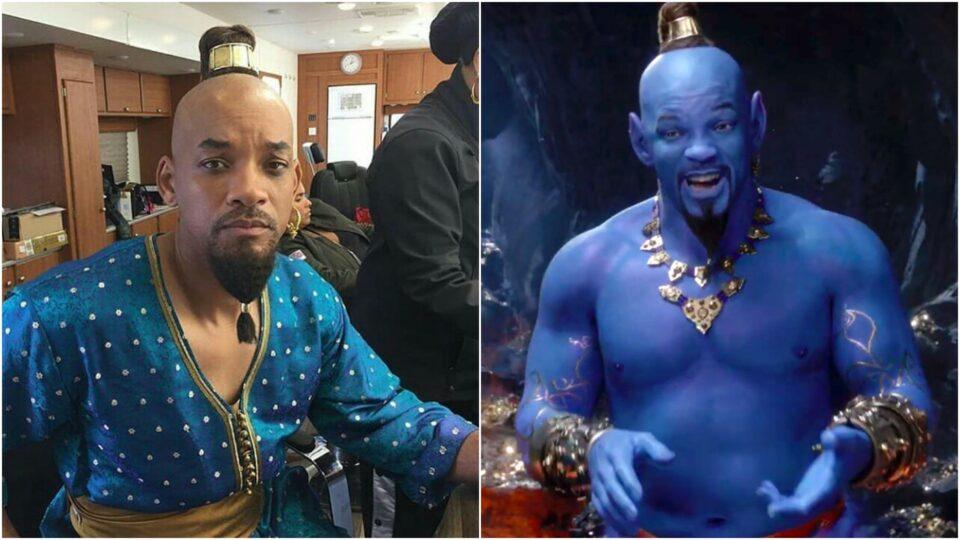 Genie Will Smith Blue Comparison