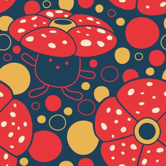 Vileplume Pattern Original Stitch Pokemon