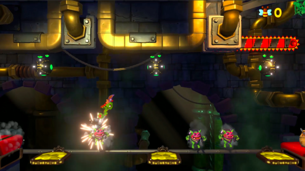 Impossible Lair Gameplay from Yooka-Laylee and the Impossible
