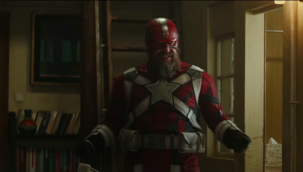 David Harbour as Red Guardian Black Widow trailer