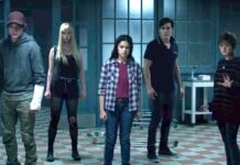 The New Mutants group shot