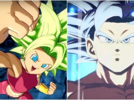 Kefla and Ultra Instinct Goku