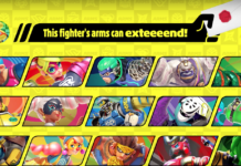 Arms Character Smash Bros. Ultimate