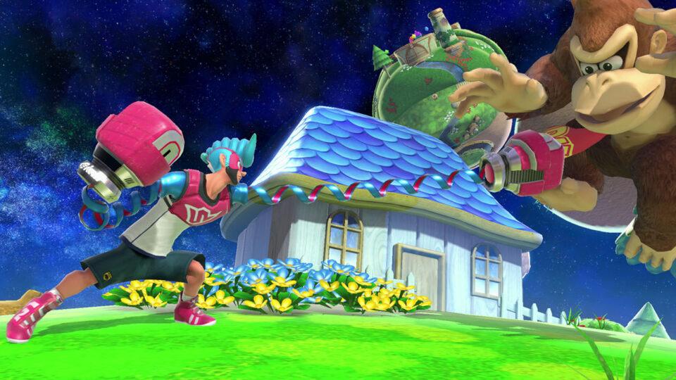 Spring Man in Smash Ultimate
