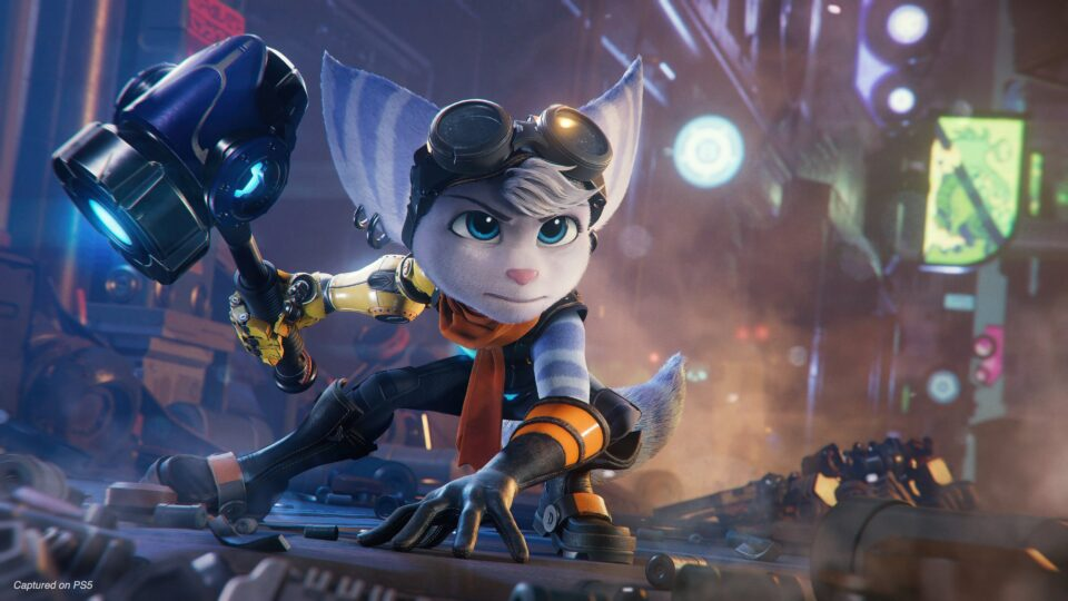 Ratchet and Clank Rift Apart Female Ratchet