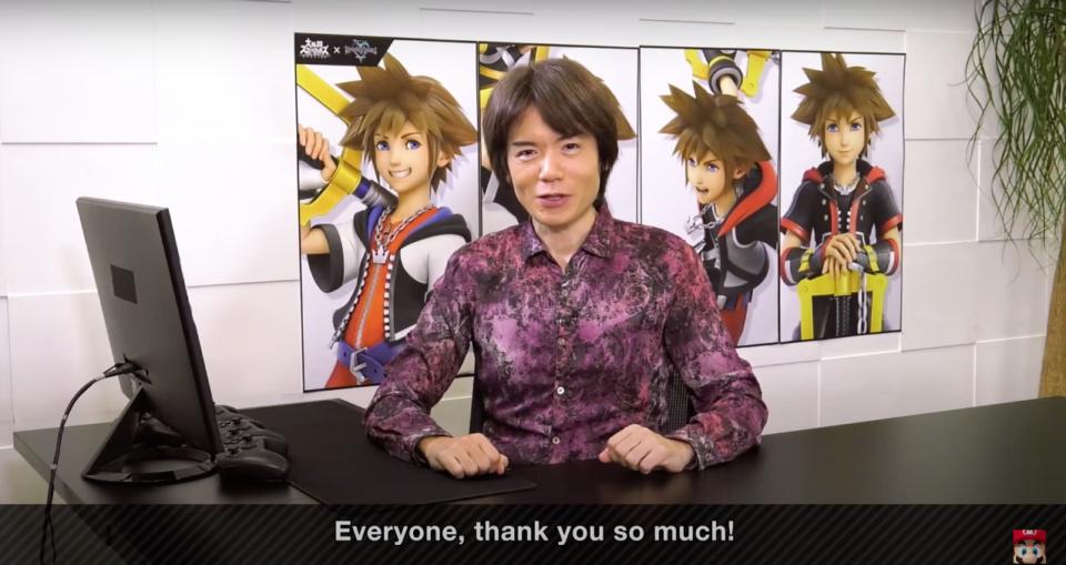 Thank you Mr. Sakurai