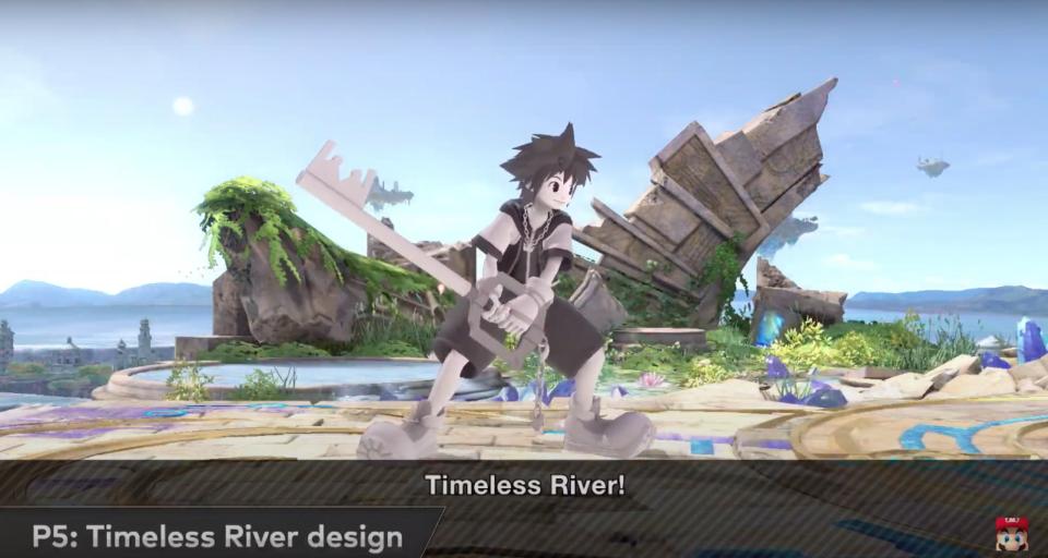 Sora Timeless River Costume Smash Bros.